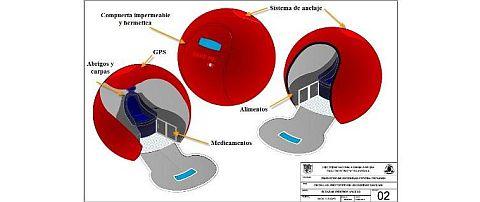 La esfera costaría 1,000 dólares cada una si se produce masivamente. (Andina)